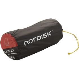 Nordisk Vanna 2.5 Tappetino autogonfiabile, burnt red/black